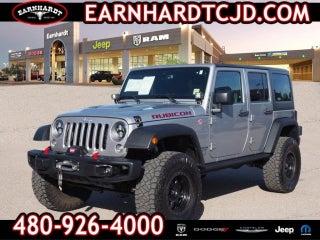 2016 Jeep Wrangler Unlimited Rubicon Hard Rock In Gilbert Az Earnhardt Chrysler Dodge
